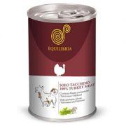 אקוליבריה שימורי פטה לכלבים - בשר הודו 410 גרם