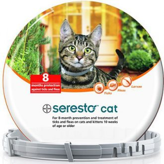 קולר סרסטו לחתולים נגד פרעושים וקרציות SERESTO