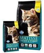 מאטיס אוכל לחתולים עוף הודו 20 ק''ג