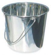 דלי למים מנירוסטה - 9 ליטר