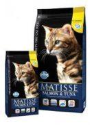 מאטיס אוכל לחתולים סלומון וטונה 20 ק''ג