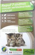 קולר נגד פרעושים וקרציות לגורי חתולים