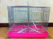 כלוב לציפורים מאובזר+מחיצה