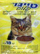 מזון לחתולים טייגר 18 ק''ג