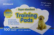 פדים לאילוף גורי כלבים חברת PAWISE מאה יחידות