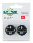 זוג סוללות לקולר לגדר וירטואלית פט סייף  PET SAFE  6V 67-RFA