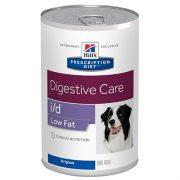 הילס כלב ייעודי (רפואי) שימור גרם 370 I/D LOW FAT
