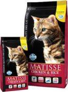 מאטיס אוכל לחתולים עוף ואורז 20 ק''ג