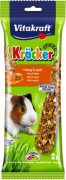 מקל דבש חטיף לשרקנים - 2 יחידות בחבילה 112 גרם Vitakraft Honey sticks for Guinea Pig