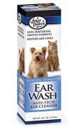 נוזל ניקוי אוזניים לכלבים וחתולים - 118 מ''ל Four paws