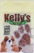 קייליז חטיף אילוף לכלבים רצועות מיני ברווז 100 גרם kelly's
