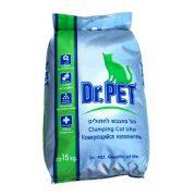 דר פט חול לארגז צרכים של החתול - חול מתגבש וריחני 15 ק''ג DR PET
