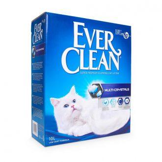 """חול אבר קלין מולטי קריסטל כהה 8.3 ק""""ג (ללא בישום) Everclean"""