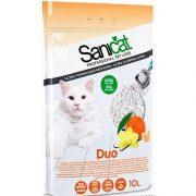 חול סאניקט מתגבש בניחוח וניל ומנדרינה -10 ליטר SANICAT