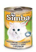סימבה חתול נתחי ארנב 400 גרם