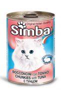 סימבה שימורים לחתולים - נתחי טונה 400 גרם