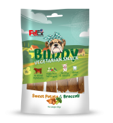 באדי סנייק חטיף טבעוני לכלב מבטטה וברוקולי 80 גרם