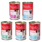 פרמיו שימורי פטה לכלב - מגוון טעמים 400 גרם