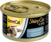שייני קאט מעדן לחתול טונה ושרימפס 70 גרם