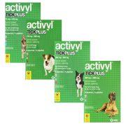 אקטיביל אמפולות לכלבים נגד פרעושים וקרציות