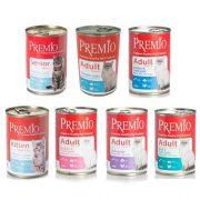 פרמיו שימורי פטה לחתולים - מגוון טעמים 400 גרם premio