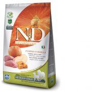 נטורל דלישס N/D מזון לכלבים דלעת וחזיר 12 ק