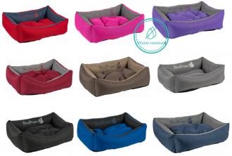 מיטות לכלבים PetsProject  עשוי מבד עמיד דוחה מים וכיסוי נשלף – מבחר מידות וצבעים