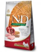 נטורל דלישס N/D מזון לכלבים על בסיס עוף ורימון מיני