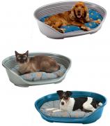 מיטה פלסטיק דלוקס לכלב/חתול - מבחר גדלים