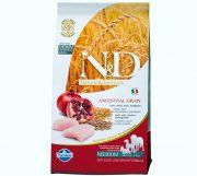 נטורל דלישס N/D מזון לכלבים על בסיס עוף ורימון 12 ק