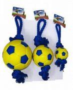 כדורגל מצפצף+חבל