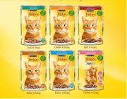 פריסקיז לחתולים - פאוץ לחתול במגוון טעמים 85 גרם Friskies