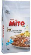 מיטו מיקס עוף ודגים אוכל לחתולים 15 ק''ג MITO MIX