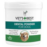 וטס בסט אבקה דנטלית לניקוי שיניים של כלבים  - 90 גרם Vets Best Dental Powder