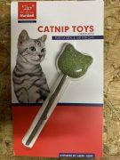 מקל מטאטאבי עם קטניפ בצורת דוב לחתולים
