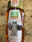 האו ומיאו שמן סלמון טהור נורווגי תוסף תזונה לכלבים וחתולים - 300 מ''ל