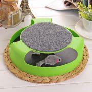 משחק חשיבה לחתול מבוך עם עכבר מגיע ב3 צבעים לבחירה