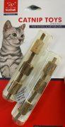 מקל מעץ המטאטאבי לאכילה ולמשחק לחתולים