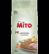 מיטו אוכל לחתולים 15 ק''ג Mito