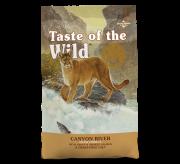 טייסט אוף דה וויילד מזון לחתולים בשר דגים ללא דגנים 2 ק