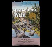 טייסט אוף דה וויילד אוכל לחתולים בשר ברווז ושליו צלויים ללא דגנים 2 ק