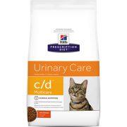 הילס חתול רפואי (ייעודי) C/D לטיפול בדרכי השתן 10 ק''ג