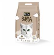 חול לחתולים נשטף באסלה על בסיס סויה בריח פולי קפה 7 ליטר