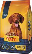 דוגלי אקטיב אוכל לכלבים בוגרים ופעילים - בקר 12 ק