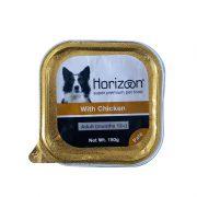 הורייזן מעדן פטה לכלב בוגר - עוף ללא דגנים 150 גרם HORIZON