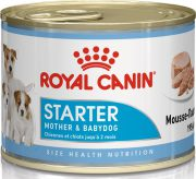 רויאל קנין סטרטר שימור לכלבות בהריון, לאחר המלטה וגורים עד גיל חודשיים - עוף 195 גרם
