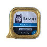 הורייזן מעדן פטה לכלב בוגר - סלמון ללא דגנים 150 גרם HORIZON