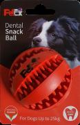 משחק דנטלי לכלב כדור גומי דחוס - ER001